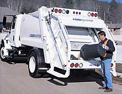 Loadmaster Elite trash truck